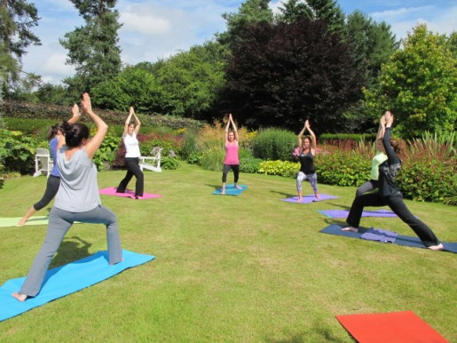 Yoga in the garden 2015 01